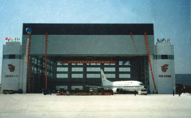 天津国际机场101飞机库