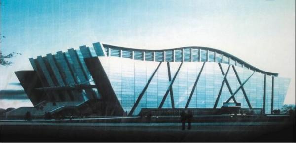 内蒙古民族学院体育馆