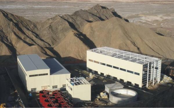 青海滩涧山金矿钢结构工程1