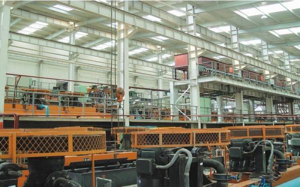 青海滩涧山金矿钢结构工程2