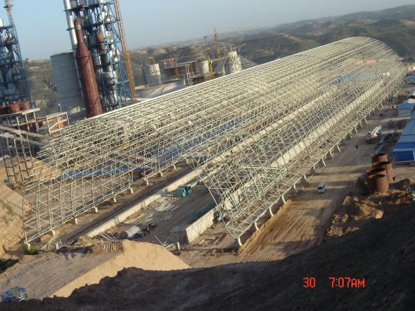 原煤及辅料预均化堆项目4