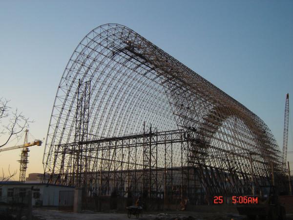 中国科学院北京研究院气球艇库工程1
