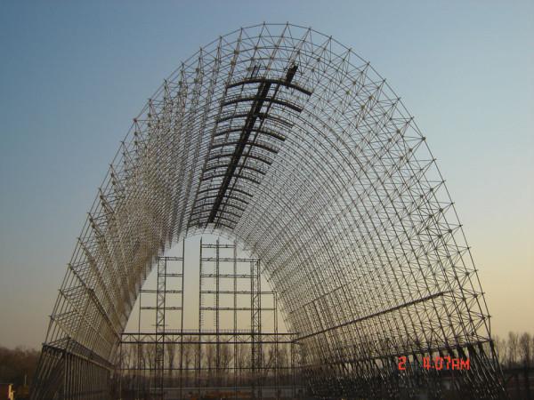中国科学院北京研究院气球艇库工程2